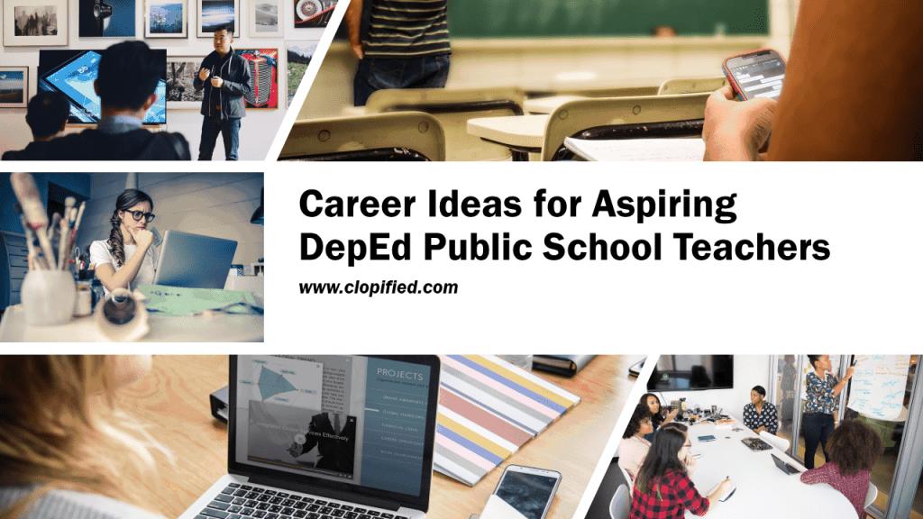 Career for Aspiring Public School Teachers - Cover Photo