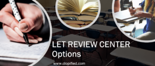 LET Review Center Options