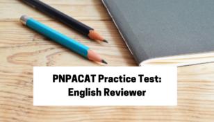 PNPACAT Practice Test: English Reviewer