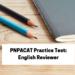 PNPACAT Practice Test English Reviewer