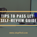 Tips to Pass LET: Self-review Guide
